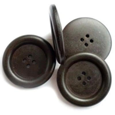 Копче дърво 18x4 мм дупка 2 мм -5 броя