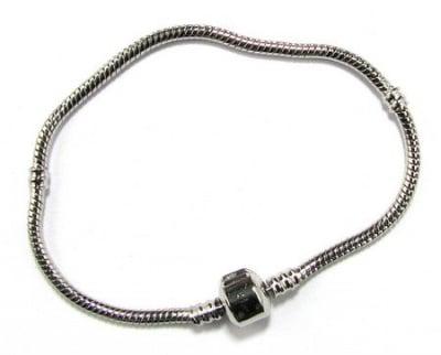 Гривна АРТ метал 200x3 мм цвят сребро
