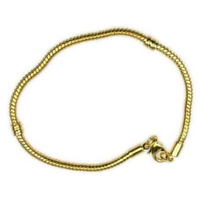 Гривна АРТ метал 180x3 мм цвят злато