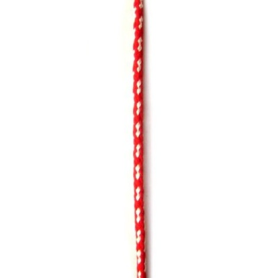 Шнур объл 3 мм ША3-38 полиестер коприна -50 метра