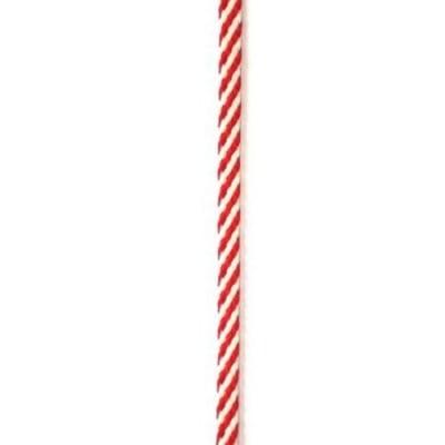 Шнур плосък 8 мм В 1 Пан полиестер -50 метра