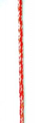 Шнур среб.ламе 4 мм К - 30 метра