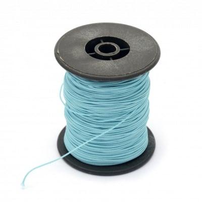 Шнур полиестер с основа корда 0.8 мм син светло ~100 метра