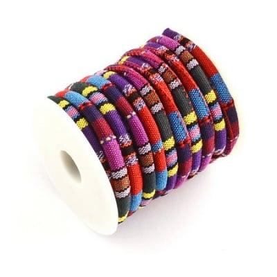 Шнур текстил 6~7 мм объл -1 метър