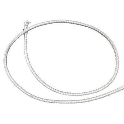 Шнур памук Корея 3 мм бял -91 метра
