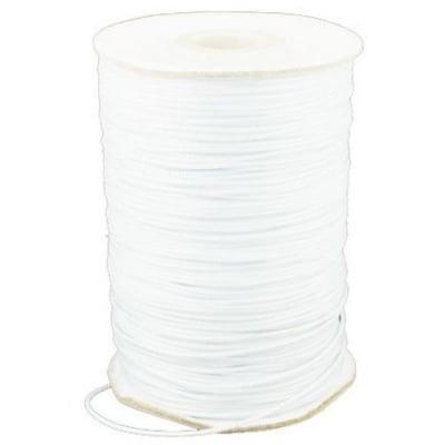 Шнур полиестер 1.5 мм бял ~10 метра