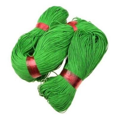 Шнур памук колосан 0.7 мм зелен ~78 метра
