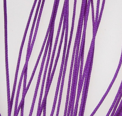 Шнур полиестер с основа корда 0.8 мм лилав тъмно -90 метра