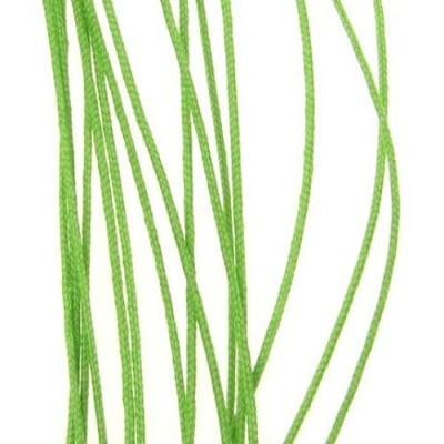Шнур полиестер с основа корда 0.8 мм зелен -90 метра