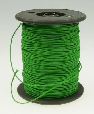 Шнур полиестер с основа корда 0.8 мм зелен -10 метра