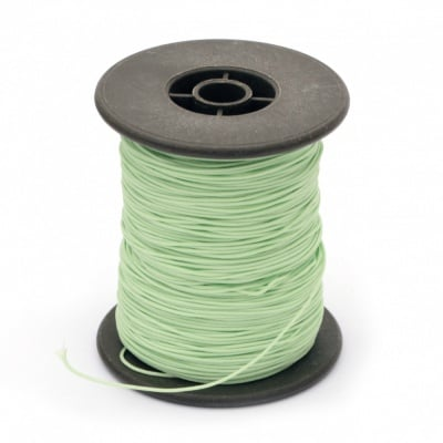 Шнур полиестер с основа корда 0.8 мм зелен светло ~100 метра