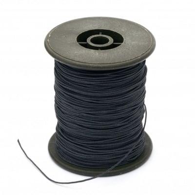 Шнур полиестер с основа корда 0.8 мм сив тъмно ~100 метра