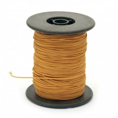 Шнур полиестер с основа корда 0.8 мм оранжев ~60 метра
