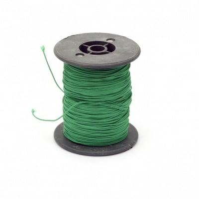 Шнур полиестер с основа корда 0.8 мм зелен ~60 метра