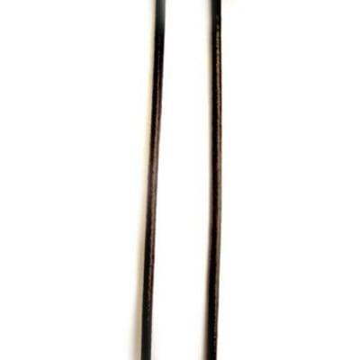 Шнур естествена кожа 3 мм кафяв -100 метра