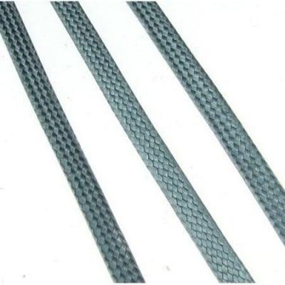 Шнур памук Корея 4x1 мм сив -10 метра