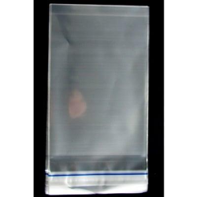 Целофанов плик 10/16+3 см капак залепващ -250 броя