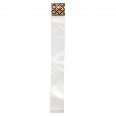 Целофаново пликче 3/20+3 см капак залепващ щендерно шевица 3 -100 броя