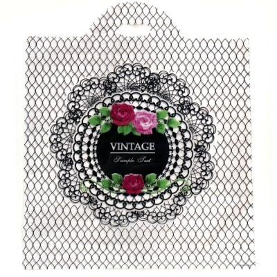 Торбичка от PE материал 53x45 см. Винтидж