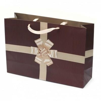 Торбичка подаръчна от картон 353x246x108 мм