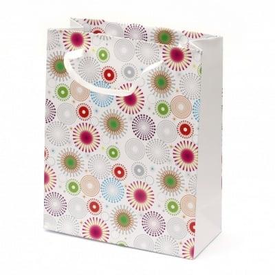 Торбичка подаръчна от картон 196x245x88 мм