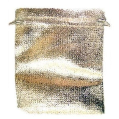 Торбичка за бижута 70х85 мм сребро