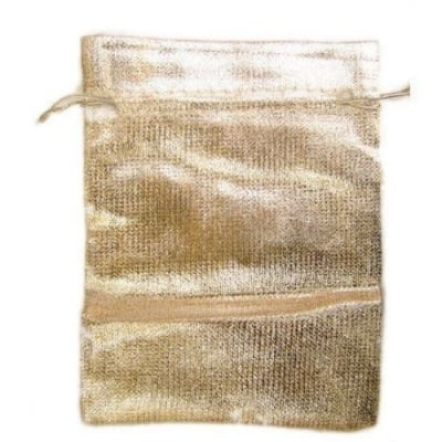 Торбичка за бижута 90х120 мм сребро