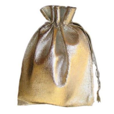 Торбичка за бижута 120х160 мм сребро