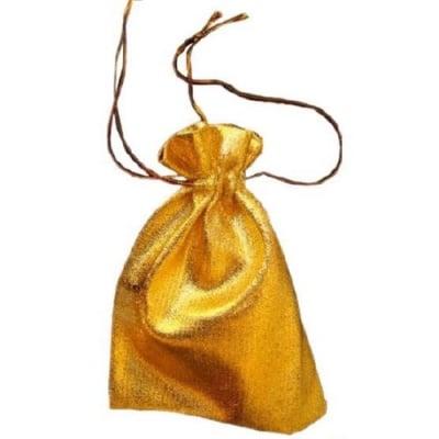 Торбичка за бижута 120х160 мм злато