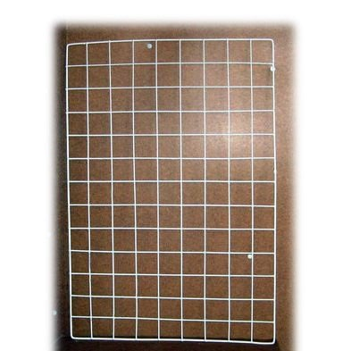 Стелаж метална решетка -скара 65x45 см