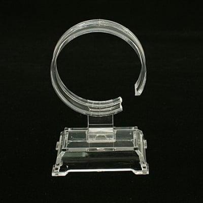 Стойка за гривни 60x40x95 мм прозрачна