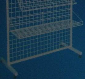 Кошница 95x26.5x6см за стелаж метална решетка