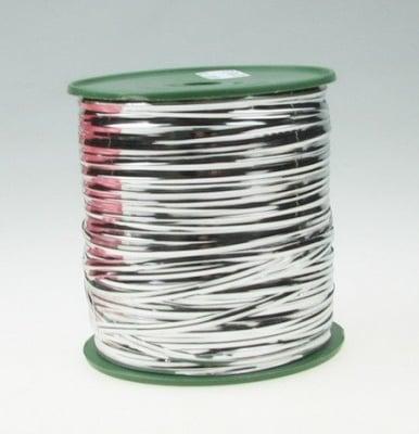 Метална лента 4 мм цвят сребро -1 метър