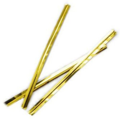 Метална лента 60x4 мм цвят злато -1000 броя