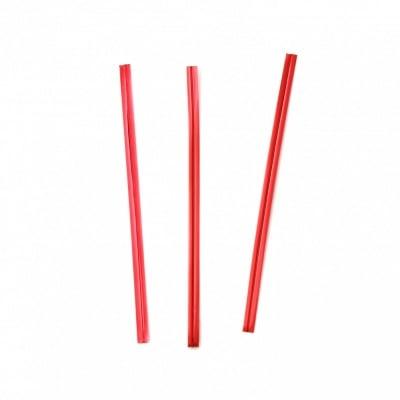 Метална лента 100x4 мм цвят червено -1000 броя