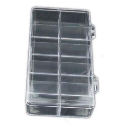 Кутия прозрачна 18x9.5x3 см с 10 отделения