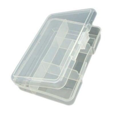 Кутия пластмасова 14.5x10.5x3.4 см с 5 отделения