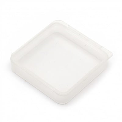 Кутия пластмасова 5.4x5.4x1.2 см