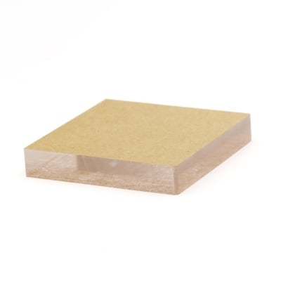 Акрилно блокче за силиконов печат 55x55x10 мм