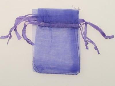 Торбичка за бижута 70x50 мм лилава