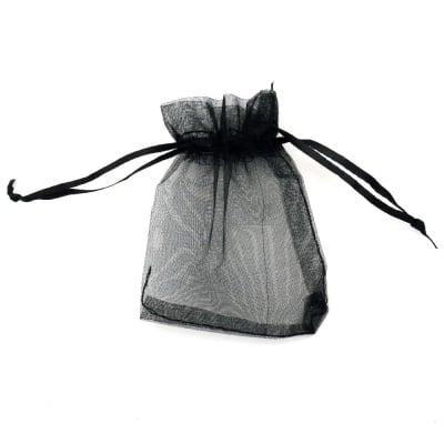 Торбичка за бижута 80x100 мм черна