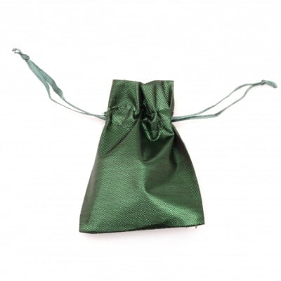 Торбичка за бижута 6.5x9 см зелена