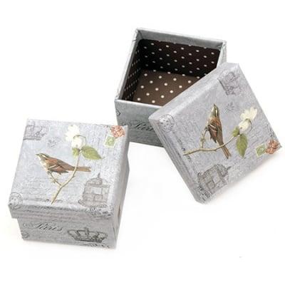 Кутийка за бижута 70x59 мм картон Letter