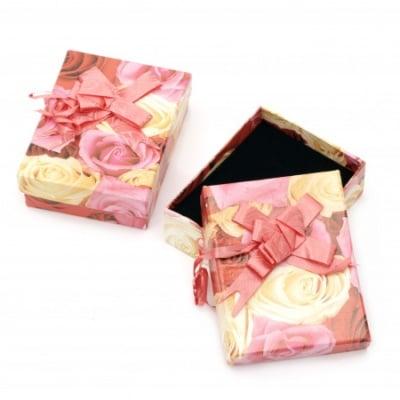 Кутийка за бижута 70x90 мм цветна