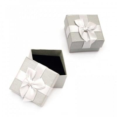 Кутийка за бижута 60x60 мм сива
