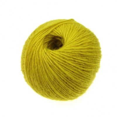Прежда вълна жълта -50 грама
