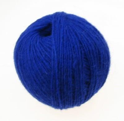 Прежда вълна синя -50 грама