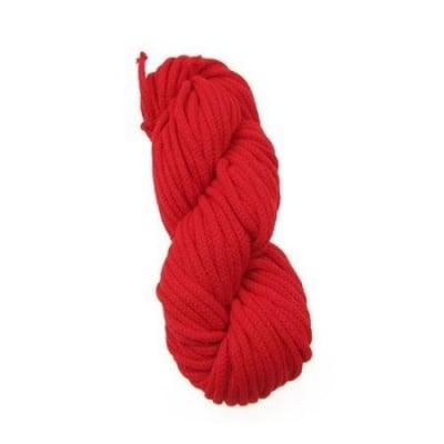 Макраме 3 мм червено -25 метра