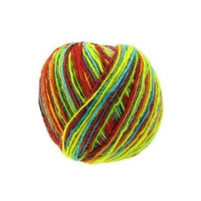 Прежда вълна цветна -50 грама