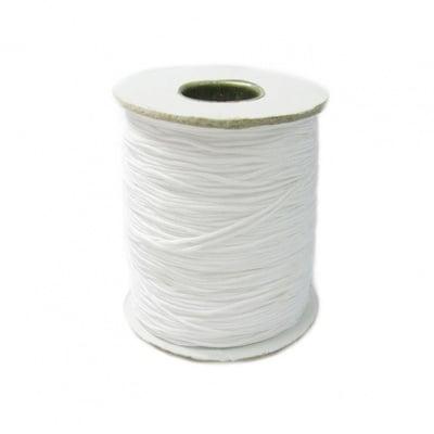 Шнур полиестер 0.8 мм бял ±120 метра